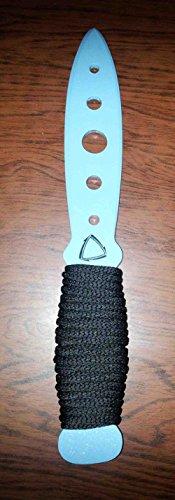 Aluminum Practice Knife Training Kali arnis self defense martial arts (Light Blue)