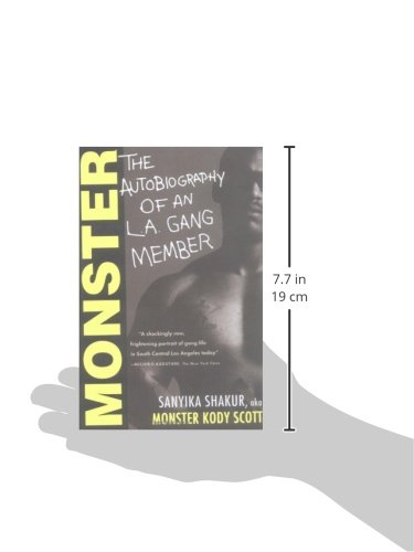 monster the autobiography of an la gang member Coupon: rent monster: the autobiography of an la gang member by sanyika shakur | summary & study guide 1st edition by bookrags ebook (9781628506600) and save up to 80% on online textbooks at cheggcom now.