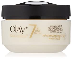 Olay Total Effects Anti-Aging Night Firming Treatment, 1.7 fl. Oz.