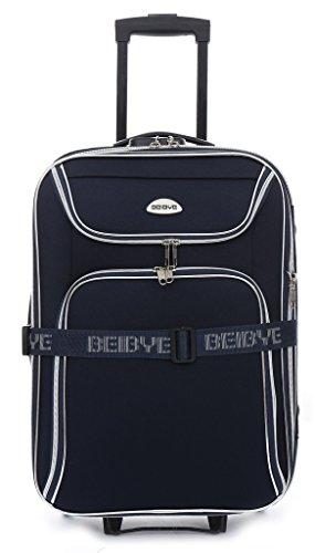 XXL - trolley-valigetta 86 cm, 140/170 litri estendibile - colore blu scuro