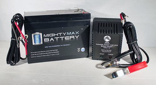 12V 10Ah Sla Battery For Gt300 Scooter + 12V 1Amp Charger
