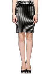 Fasnoya Women's Striped Skirt