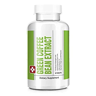 Rated Vitamins Green Coffee Bean Extract Premium Diet and Weight Loss Supplement & Appetite Suppressant