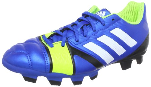 adidas Performance  nitrocharge 3.0 TRX FG,  Scarpe da calcio uomo, Blu (Blau (BLUE BEAUTY F10 / RUNNING WHITE FTW / ELECTRICITY)), 42