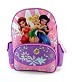 "Disneys Fairies Large 16"" Backpack - Featuring Tinker Bell"