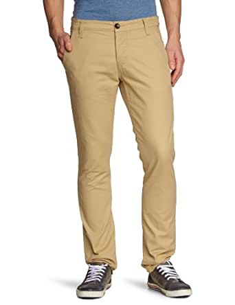 TOM TAILOR Denim Herren Hose 64006570912/solid chino, Gr. 31/34, Beige (8260 faded sand)