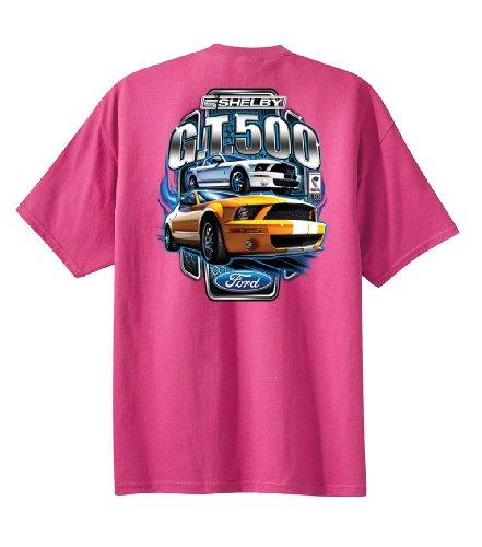 ford-mustang-shelby-gt-500-para-el-coche-muscular-t-camiseta-de-manga-corta