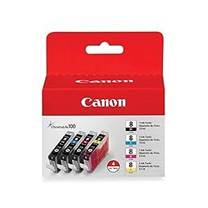 Canon CLI-8 4-Color Ink Tanks