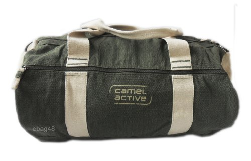 camel active Reisetasche Nautic, khaki, 58 x