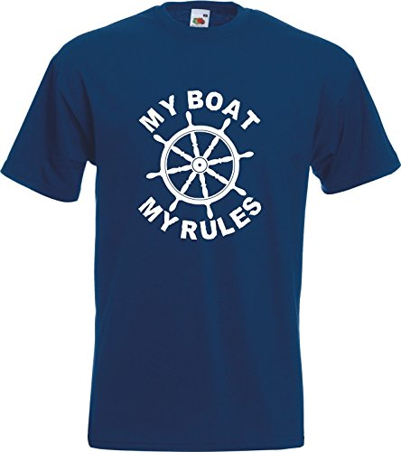 MY-BOAT-MY-RULES-Funny-Captain-Skipper-Boating-Yacht-Gift-T-Shirt-T-Shirt