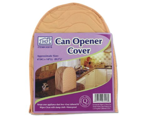 Can opener cover