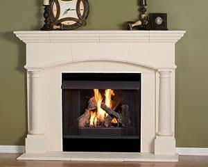 Kington Thin Cast Stone Adustable Fireplace