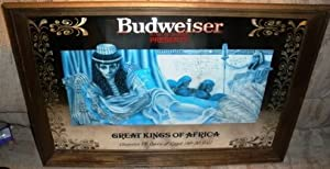 Amazon Com Budweiser Great Kings Of Africa Cleopatra
