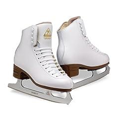 Jackson Artiste Ice Skates - JS1790 Ladies White Figure Ice Skates by Jackson