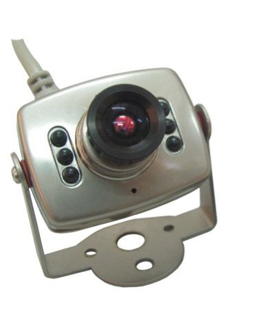 6 IR Leds Mini Security Color spy Camera with audio