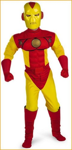 Halloween Costumes Iron Man Childs Costume