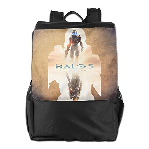 CYANY HALO MASTER CHIEF Shoulder Bags Baseball Black Backpack For Men & Women Teens College (Halo Master Chief Collectors Edition)