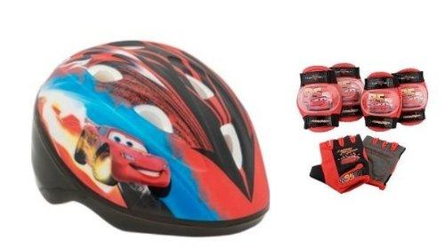 Disney Pixar Cars the Movie - Toddler Microshell Helmet & pad Set