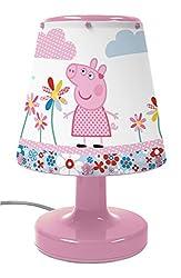Peppa Pig Bicycle Bedside Kool Lamp