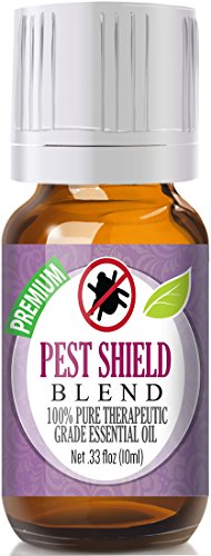 Pest Shield Essential Oil Blend 100% Pure, Best Therapeutic Grade - 10ml - Comparable to DoTerra's TerraShield Essential Oil Blend