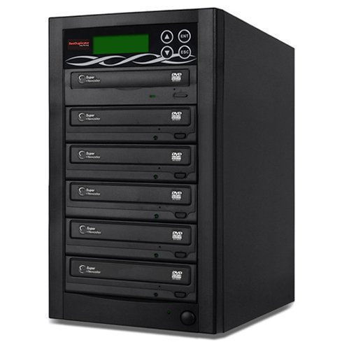 Bestduplicator Bd-Smg-5T 5 Target 24X Sata Dvd Duplicator With Built-In 1 To 5 Samsung Burner