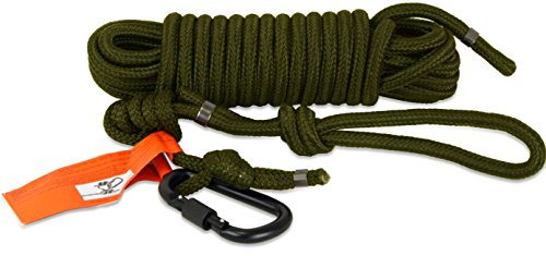 Tree Spider Safety Line Harness (Pack of 3), Olive