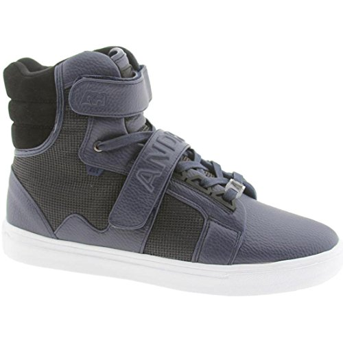 Android Homme Men's Propulsion High (navy grid)-10.5