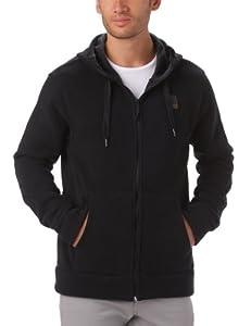 Rip Curls Tall Boy Men's Hooded Arctic Fleece black black Size:XXL