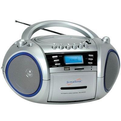 SC183UM-MP3/CD Cassette Recorder