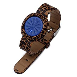 Moretek Sports Edition Replacement Thick Strap Wrist Bands for Jawbone Up Move (Gold Leopard)