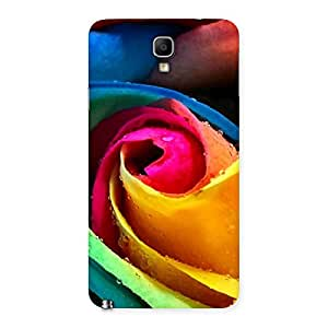 Special Rose Droplets Multicolor Back Case Cover for Galaxy Note 3 Neo
