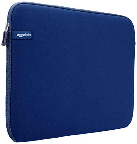 AmazonBasics - Custodia per computer portatile da 15 - 15,6 pollici, blu navy