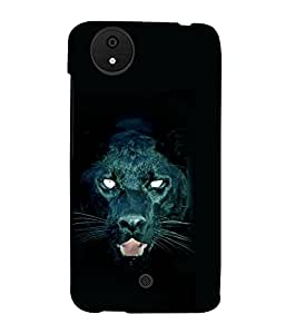 printtech Black Panther Back Case Cover for Micromax Android A1::Micromax Canvas A1 AQ4502