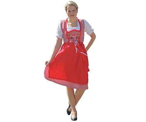 Dirndl Set 3 tlg.Trachtenkleid Kleid, Bluse, Schürze, Gr. 42 Neu OVP blau jetzt bestellen