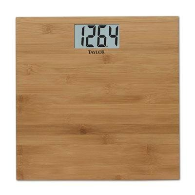 Image of Exclusive Taylor Bamboo Electronic Scale By Taylor (B0076A1TUC)