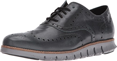 Cole Haan Men's Zerogrand Wing Oxford Shadow Sky Leather/Ironstone Oxford 9.5 D (M) (Cole Haan Canvas compare prices)