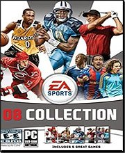 EA Sports 08 Collection (Tiger Woods PGA Golf 08 / Madden NFL Football 08 / FIFA Soccer 08 / NHL Hockey 08 / NBA Basketball Live 2008)