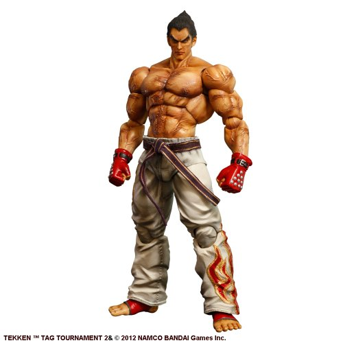 Square-Enix - Tekken Tag Tournament 2 Play Arts Kai figurine Kazuya Mishima 26