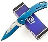 Colt Lockback Knife, Blue