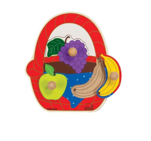 Cheap Educo Fruit Picnic Basket Puzzle (B003Z2XV2E)