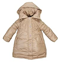 Rothschild Girls Pot of Gold Fall Coat with Removable Hood (Goldstone Size 5/6)
