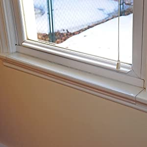 Window Sill Protector 29.5in x 3.25in Clear