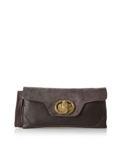 49 Square Miles Women's Pebbles Clutch, Chocolate