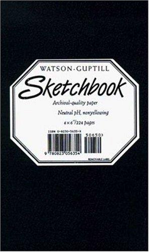 Small Sketchbook (Kivar, Black): Black (Watson-Guptill Sketchbooks)