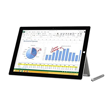 Lowest Price on Microsoft Surface Pro 3 Tablet with 64GB, Intel i3, Windows 8.1 Pro