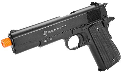 Evike Elite Force Full Metal 1911 A1 CO2 Airsoft Gas Blowback Pistol Umarex KWC - (37722) (Airsoft Gas Pistol 1911 compare prices)