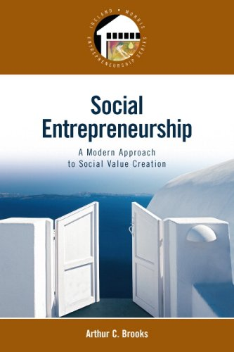 Social Entrepreneurship: A Modern Approach to Social...