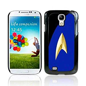 Samsung Galaxy S4 i9500/i9505 Film TV Collection Trekki Uniform Blue Glossy Image Hard Back 2D Printed Case by Call Candy (122-002-179)