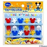 Mickey Mouse Food Fork Picks for Bento Box 12pcs Disney