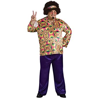 Purple Daze Plus Adult Costume